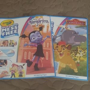 6 Color Wonder 18 page books.